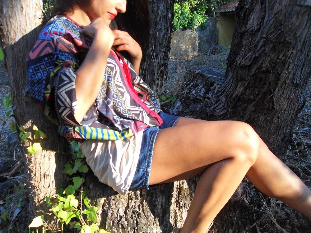 Tendência Kimono