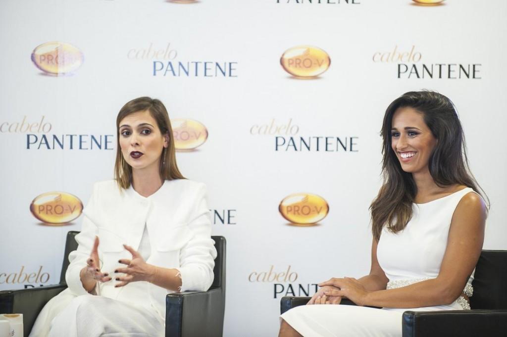Juliana Lamares, hairstylist e Rita Pereira