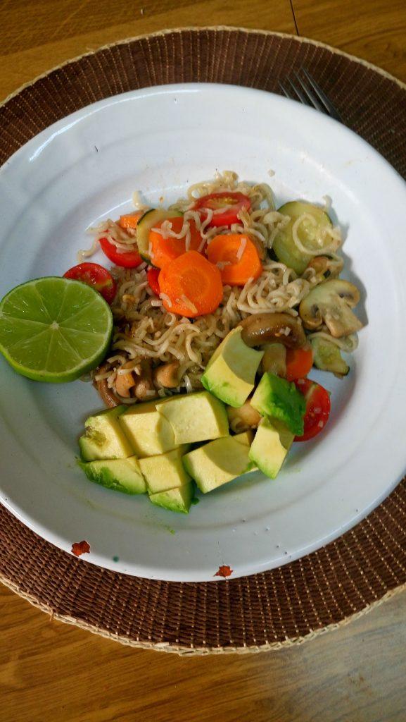 Noodles wok