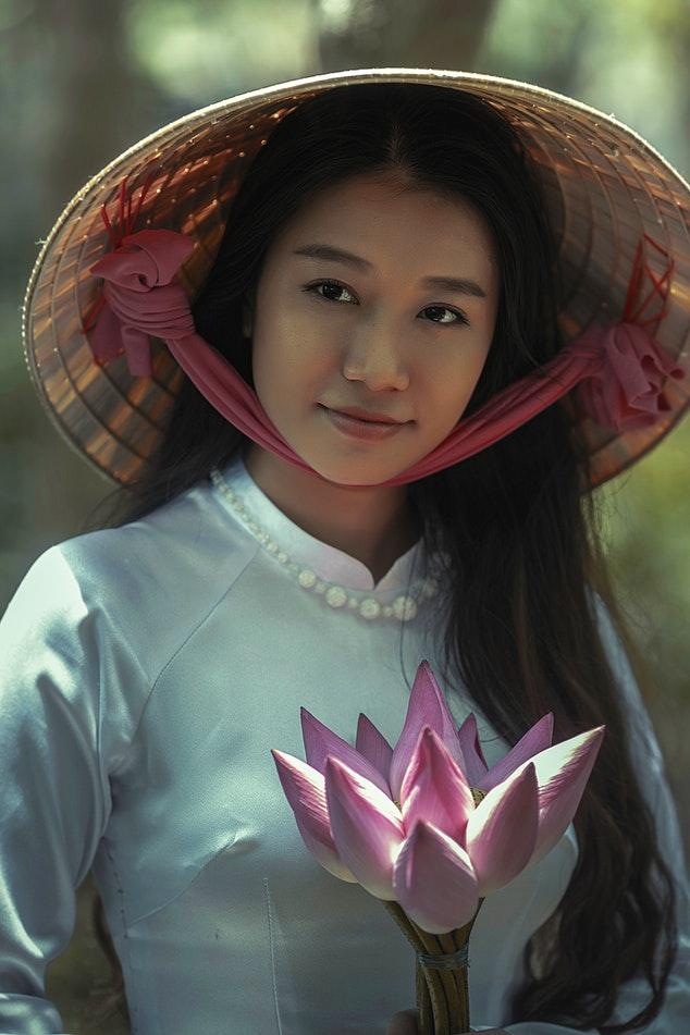 Maquilhagem para asiáticas