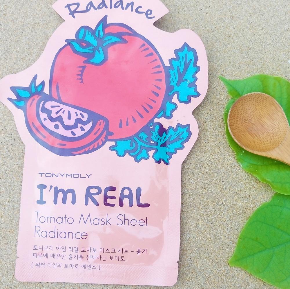 Máscara de tomate da TONYMOLY