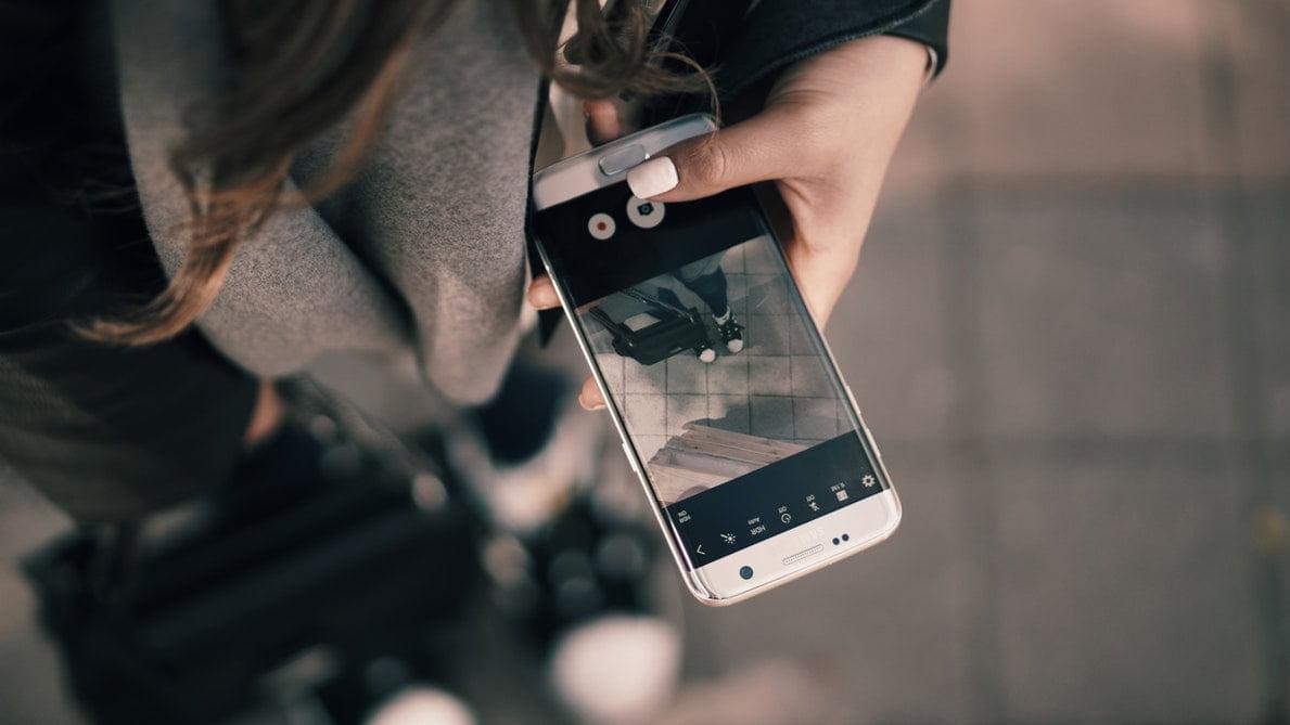 Filmar com o telemóvel