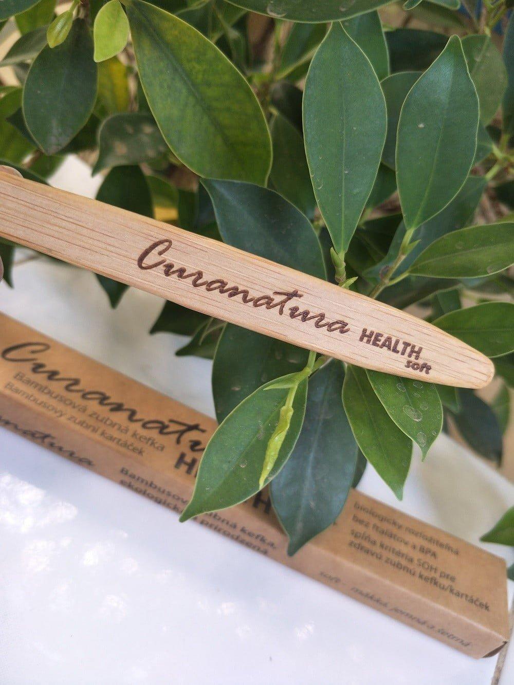 Escova de dentes bamboo